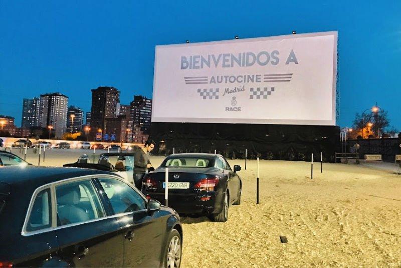 El autocine - Planes en Madrid originales