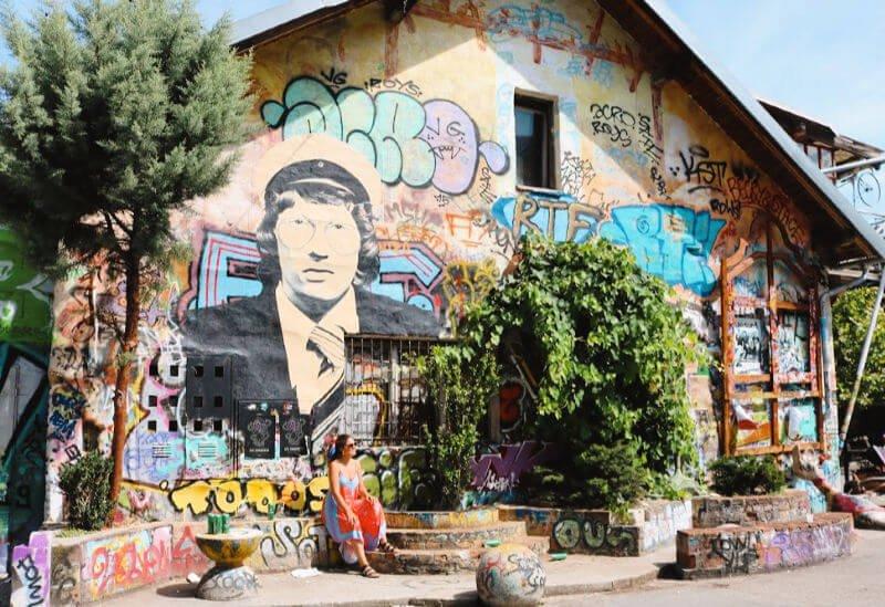 El barrio de los graffitis de Liubliana