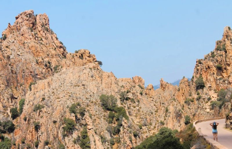 El Parque Natural de las Calancas de Piana en mi ruta por Córcega