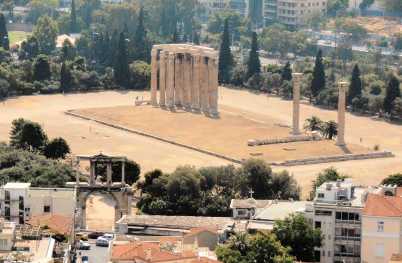 El Templo de Zeus - Qué ver en Atenas