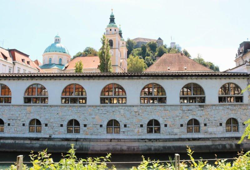 Mercado central de Ljubjblana