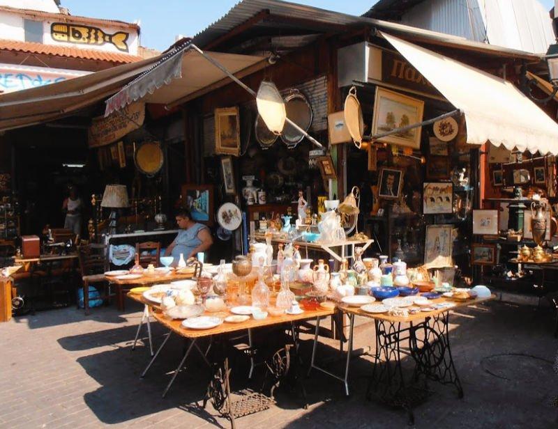 Mercado de segunda mano de Monastiraki