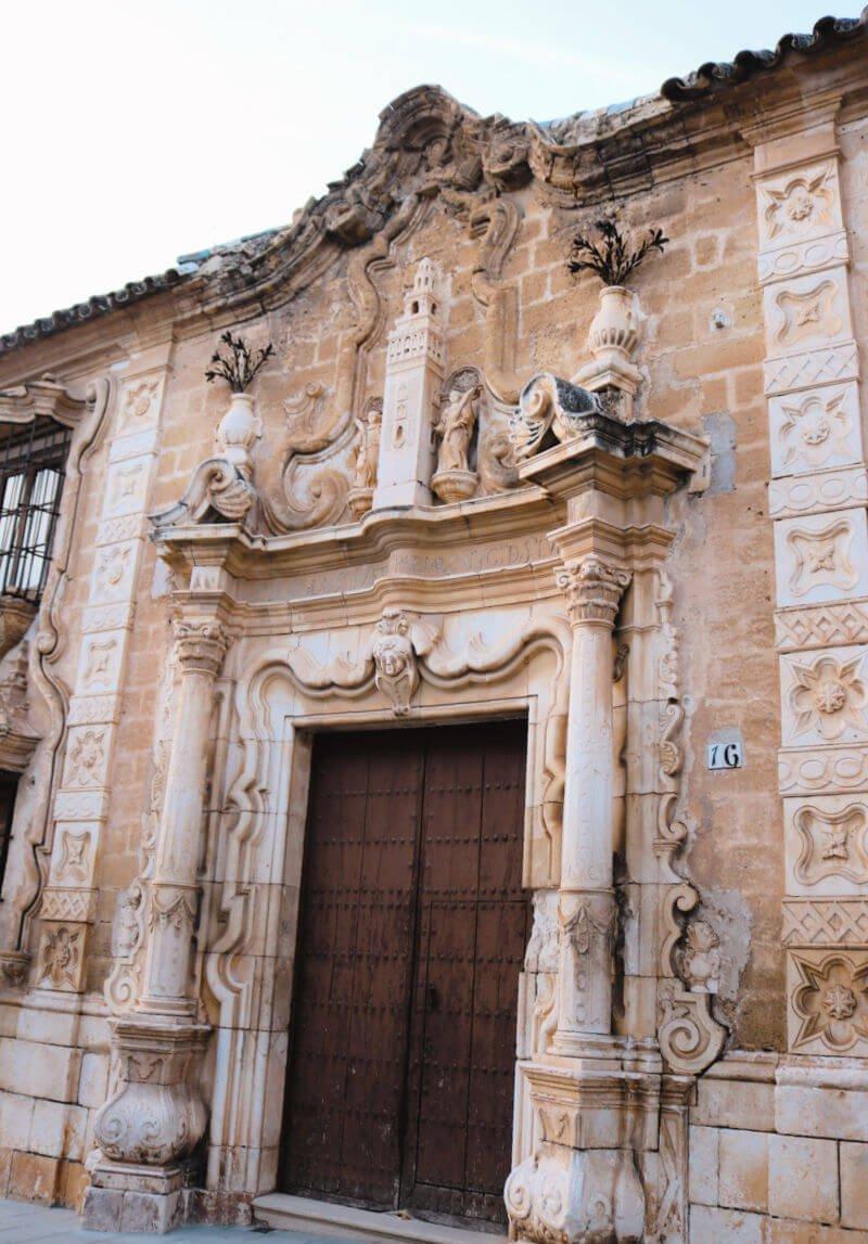 Palacio del Cabildo en calle San Pedro