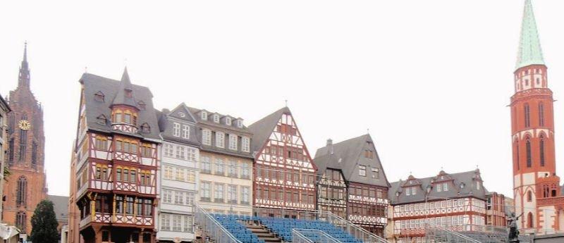 Plaza principal de la ciudad - Qué ver en Frankfurt