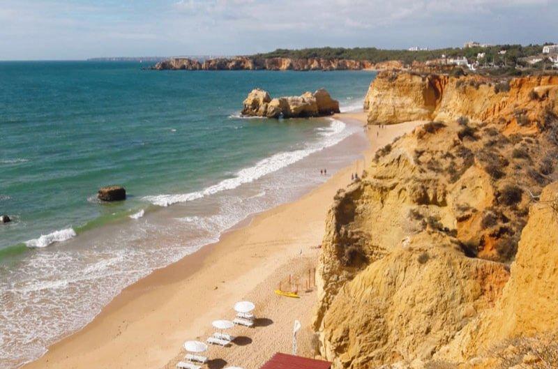 Praia da Rocha, de las mejores playas de Portugal