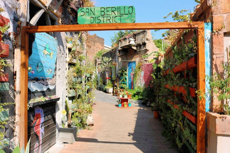 San Berillo District, el barrio de los graffitis