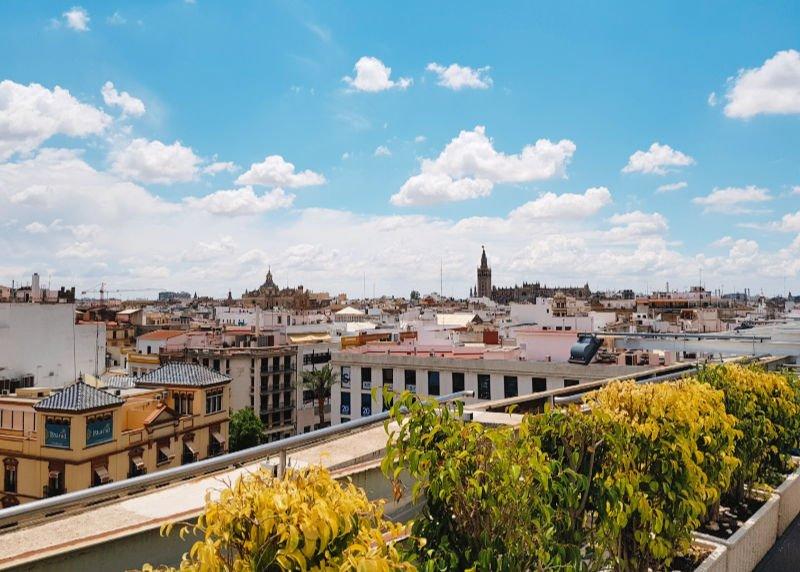 Sevilla desde El Corte Inglés del Duque