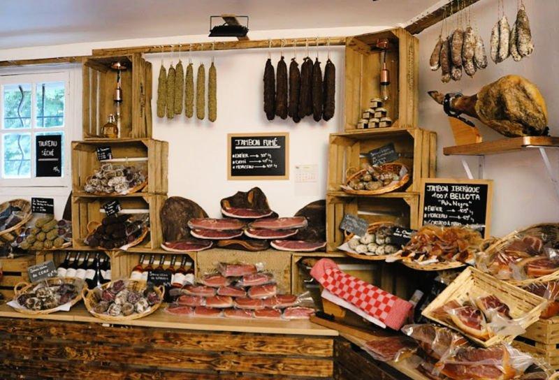 Tiendas artesanales en los pueblos de Francia
