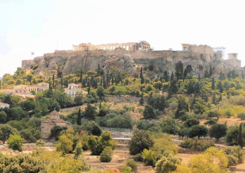 Visitar la impresionante Acrópolis