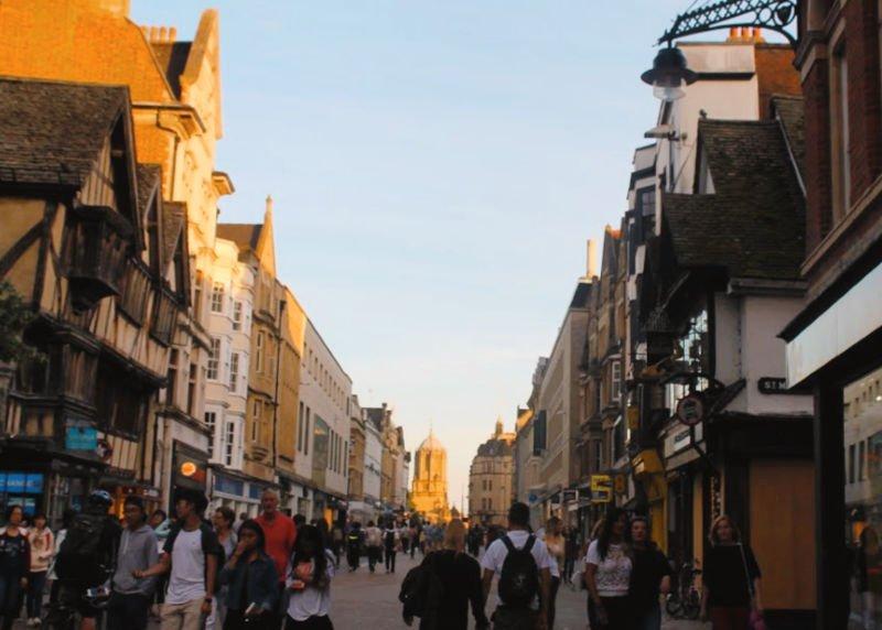 Calles principales que ver en Oxford
