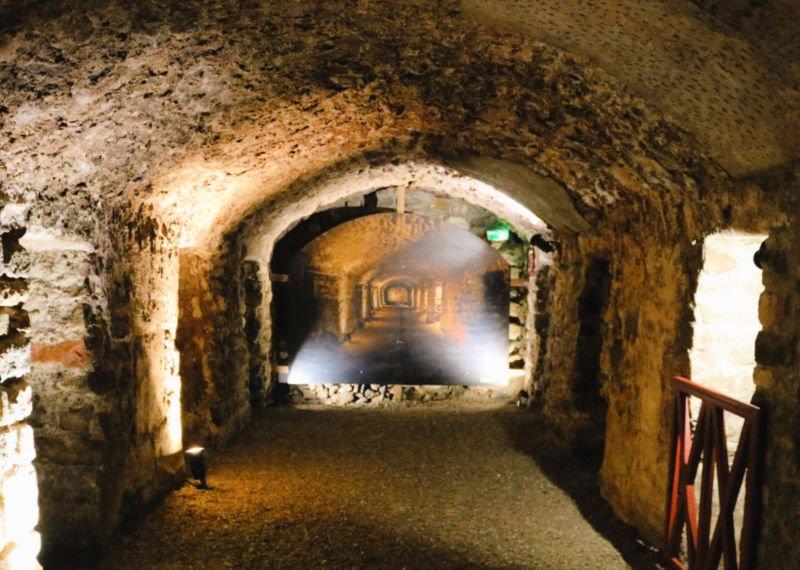 El Horreum Romano subterráneo