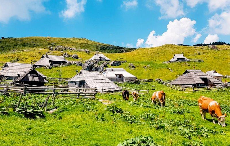 El pueblo de pastores que ver en Eslovenia