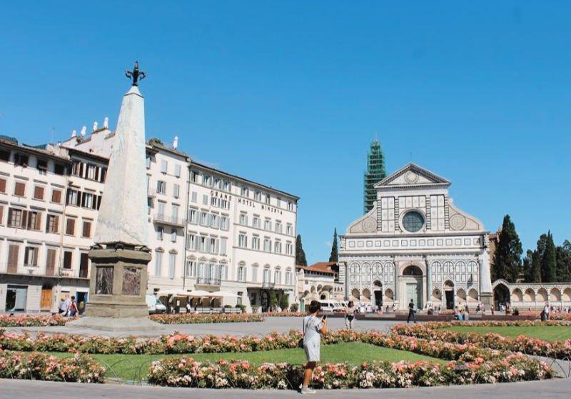 Iglesia Santa Maria Novello dominica en Florencia