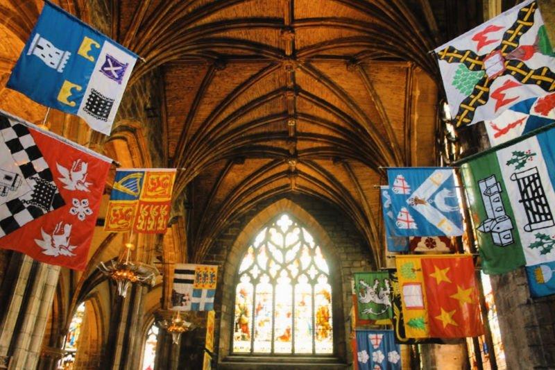 Interior de la Catedral de Sant Giles - Qué ver en Edimburgo