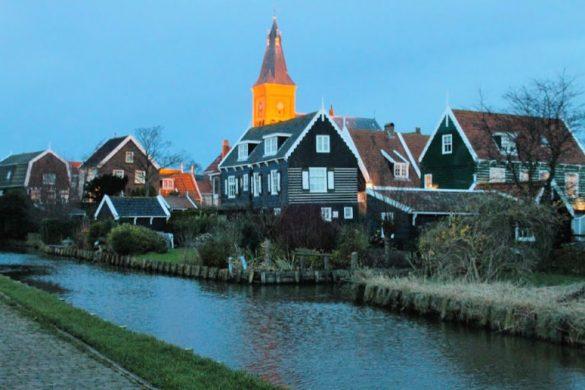 La bella Marken, uno de los pueblos más bonitos desde Ámsterdam