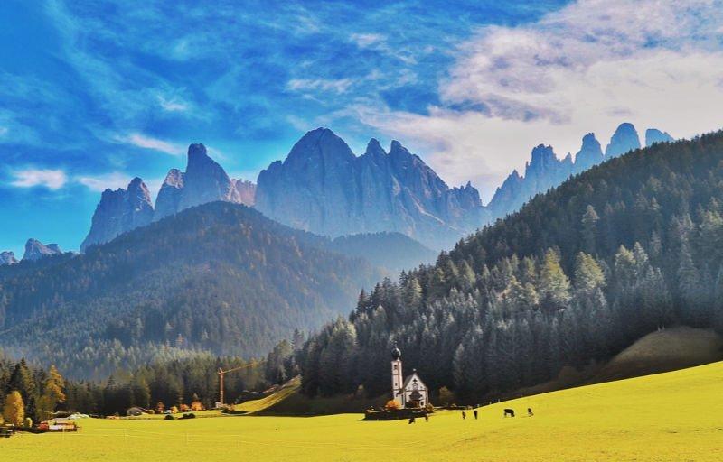 Las Dolomitas, ¿existe algo más bello?
