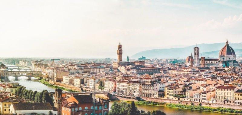 Las mejores vistas de Florencia desde Piazza Michelangelo