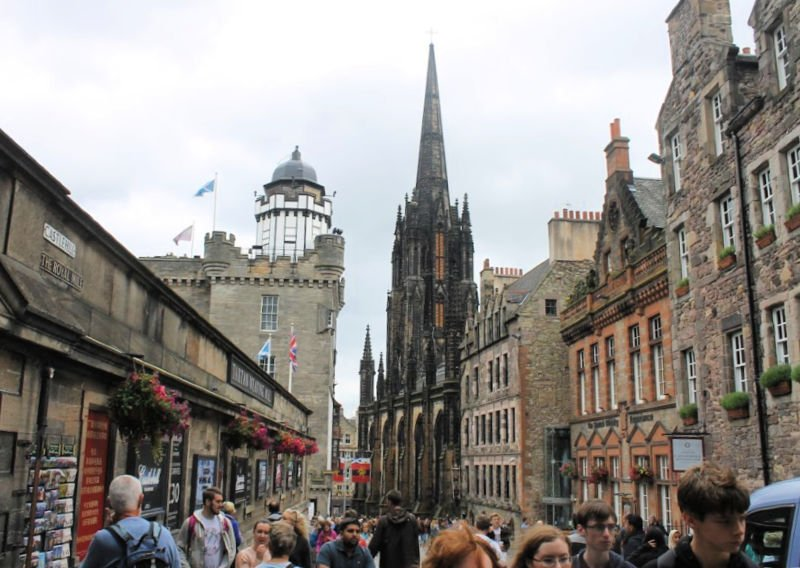 Recorrer la famosa Royal Mile