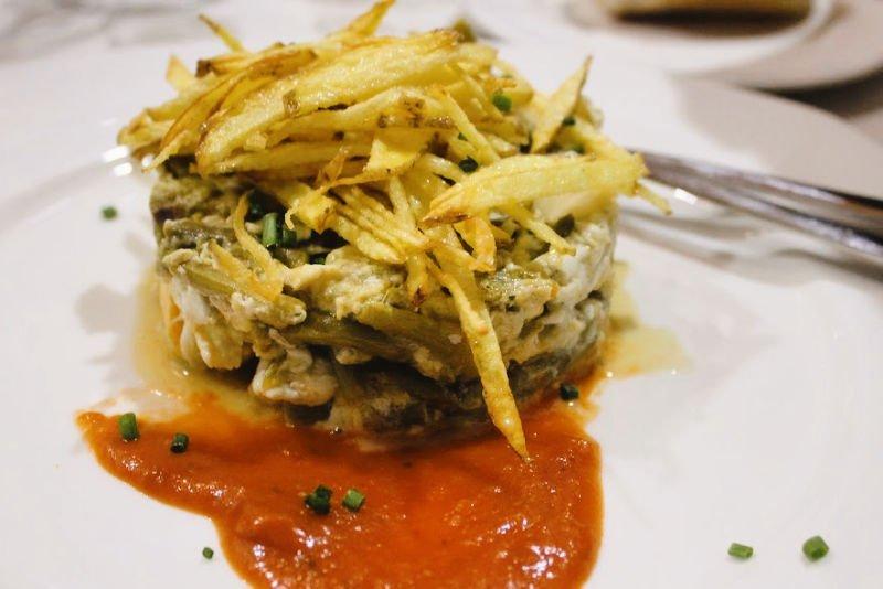 Revuelto de espárragos - Restaurantes de Antequera
