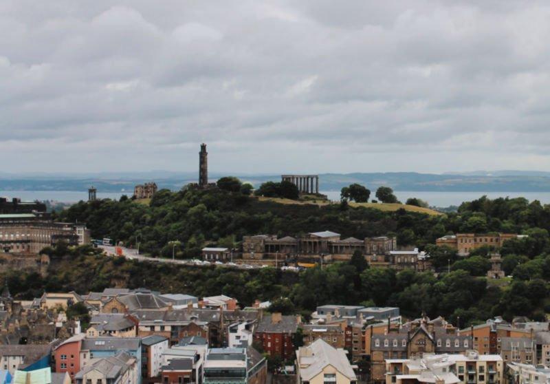 Subir a la Carlton Hill al atardecer - Qué hacer en Edimburgo