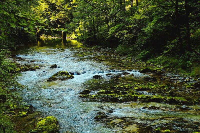 Vintgar y Parque Natural de Triglav