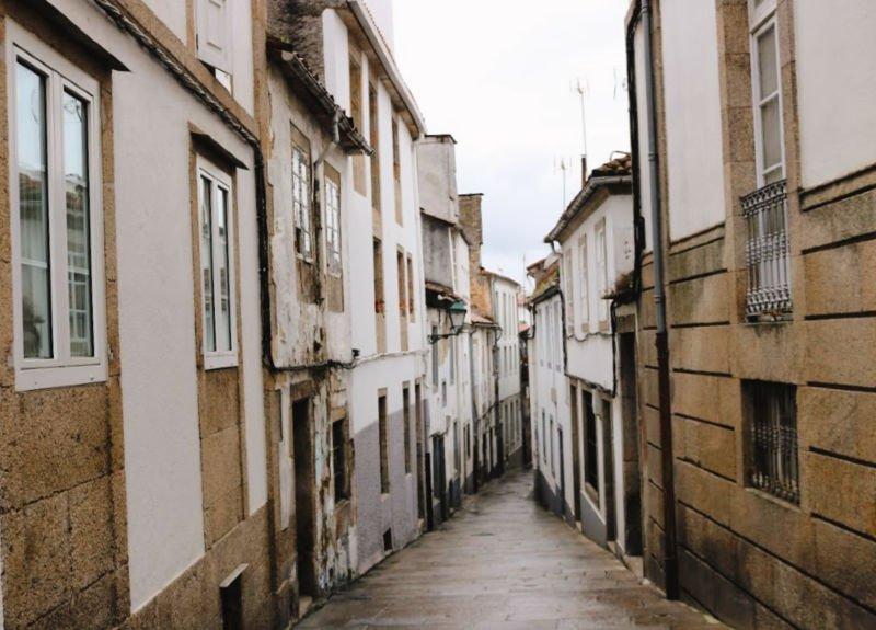Calles que parecen de pueblo