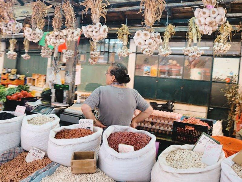 De compras en Oporto en el mercado