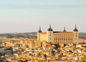 El imponente Alcázar de Toledo