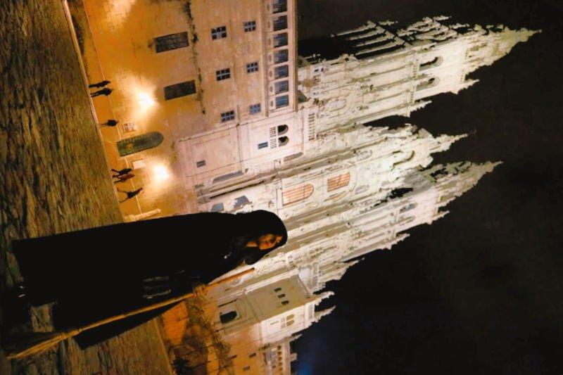 Las meigas gallegas en el Obradoiro