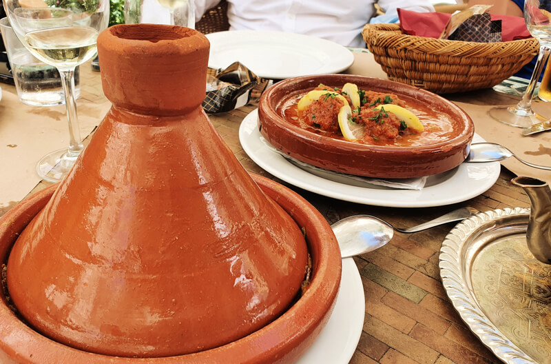 Dónde comer en Vejer: El Jardín del Califa