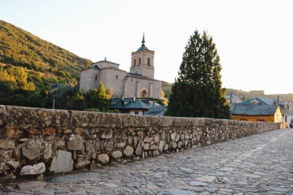 El Puente Romano de Molinaseca en el Camino de Santiago