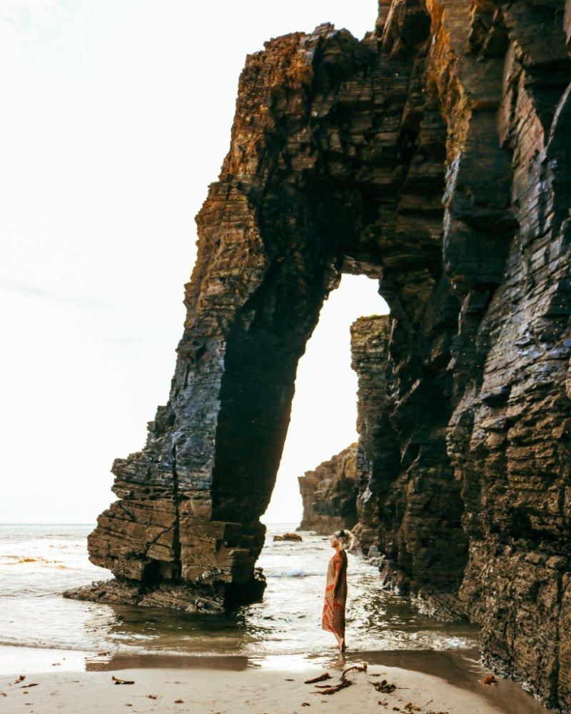 Formaciones de la Playa de las Catedrales - Qué visitar en la provincia de Lugo