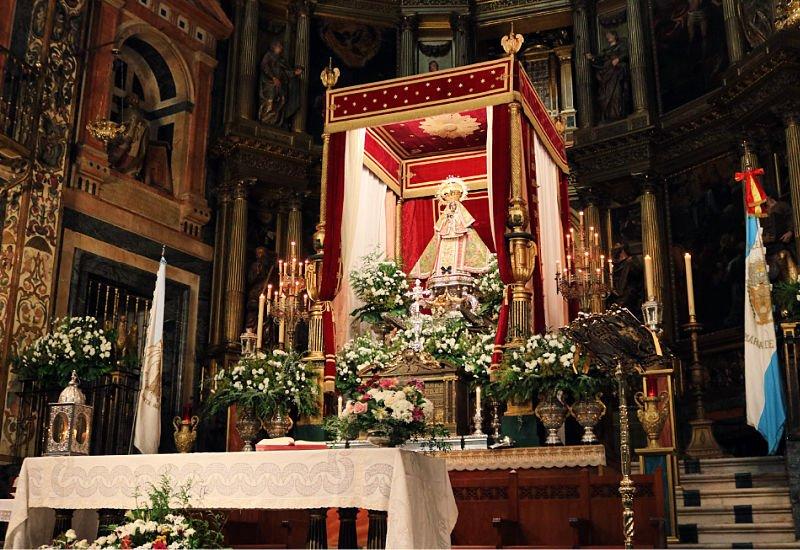 La Virgen negra en la Basílica