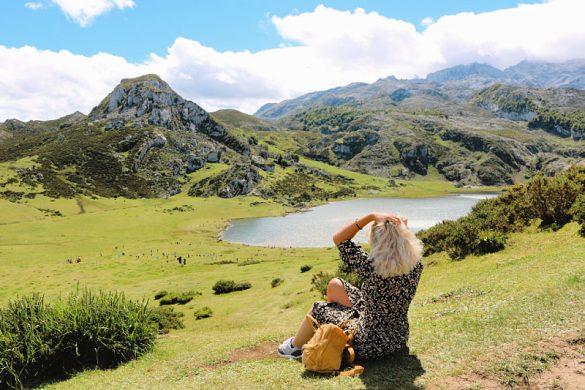 Los Lagos de Covadonga en un día claro