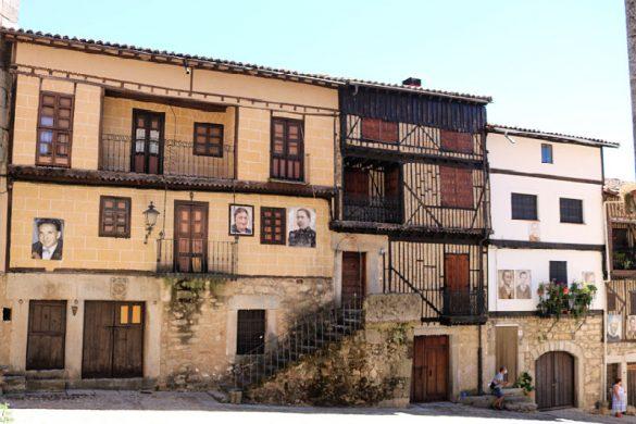 Preciosos retratosPreciosos retratos en las casas de Mogarraz en las casas de Mogarraz