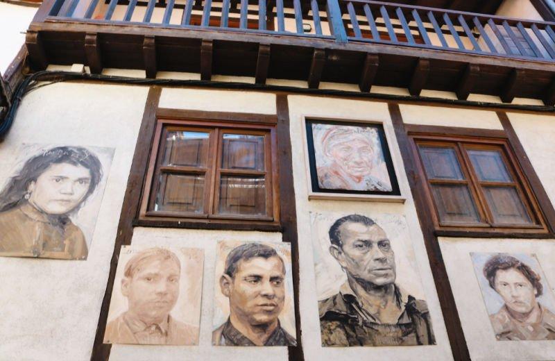 Retratos familiares en Mogarraz
