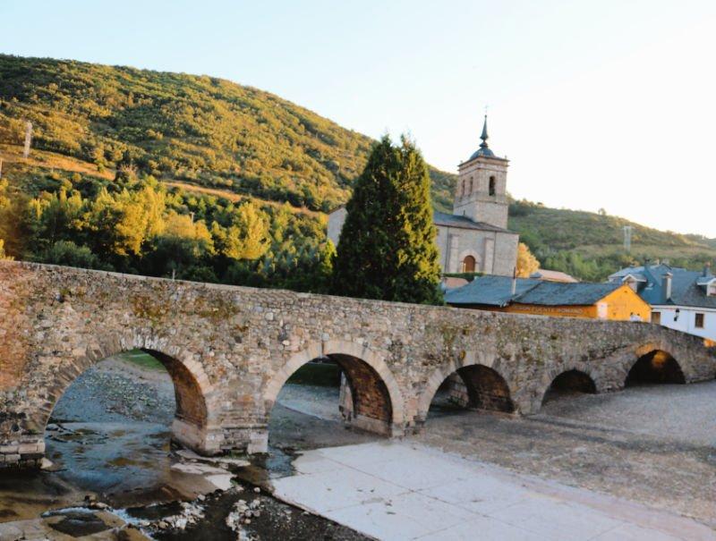 Uno de lo pueblos más bonitos de El Bierzo