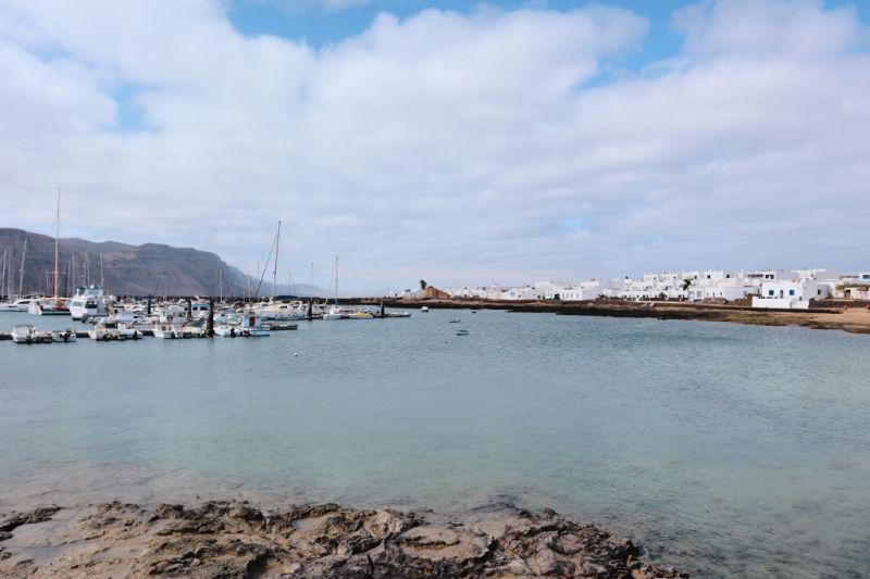 Caleta de Sebo - Cómo ir de Lanzarote a la Graciosa