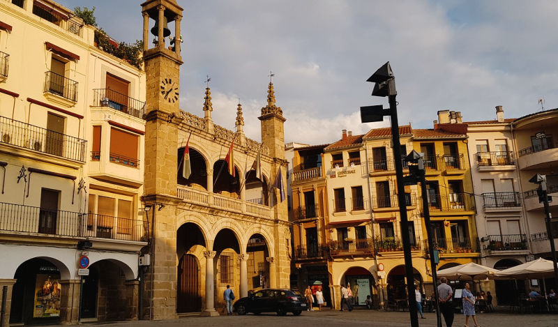 El casco histórico de Plasencia, cosas interesantes de Extremadura