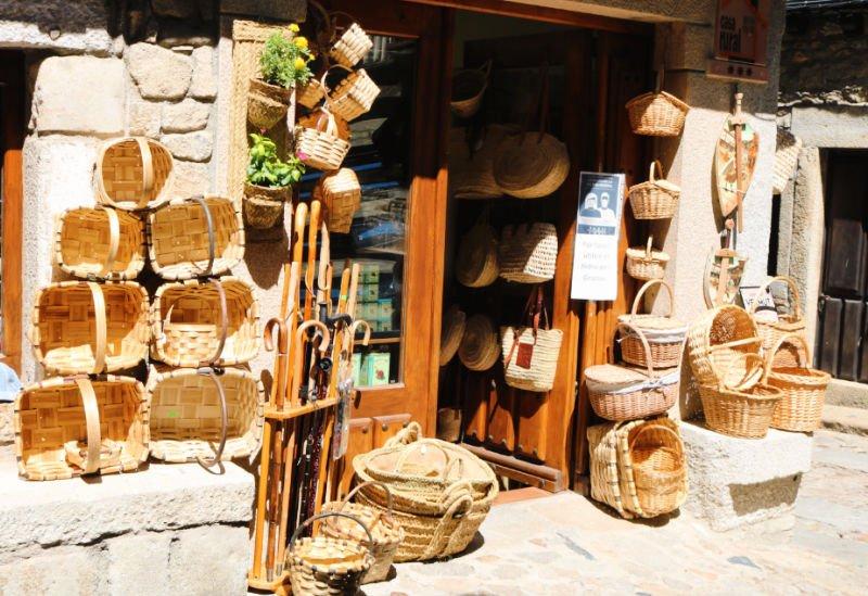 Tiendas artesanales que ver en La Alberca