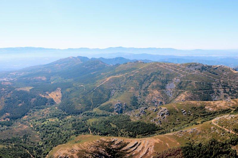Vistas desde el Mirador de la Sierra de Francia