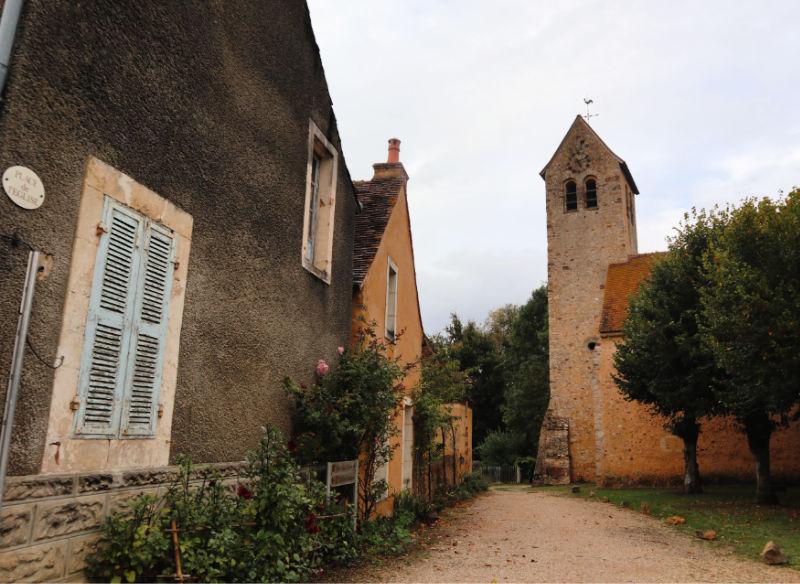 Asnières-sur-Vègre, uno de los pueblos más coquetos del Sarthe