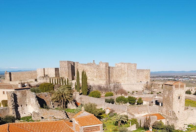 La Alcazaba o castillo que visitar en Trujillo