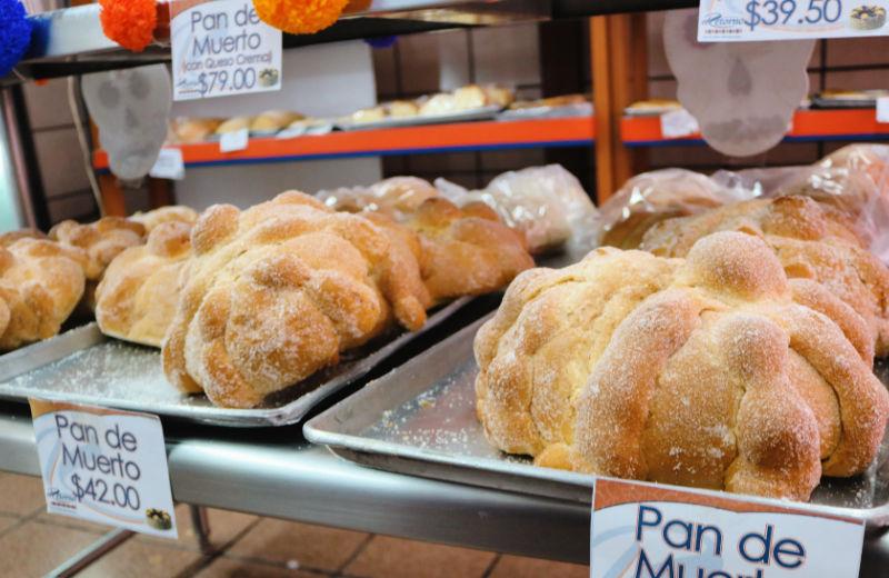Pan de muerto, recetas de Todos los Santos