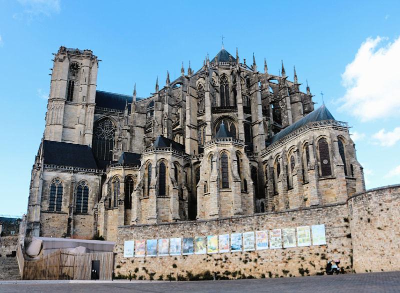 Qué ver en Le Mans, la catedral lo más importante