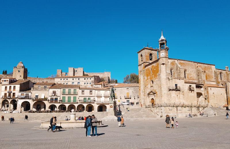 Qué ver en Trujillo - La Plaza Mayor