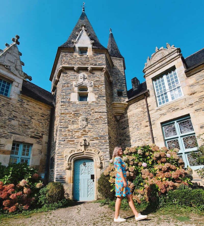 Castillo de Rochefort en la Bretaña francesa - Monumentos imprescindibles en Rochefort-en-Terre