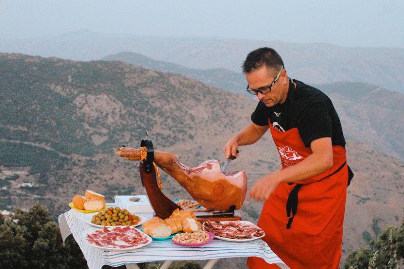 El jamón DO Trévelez es el típico de la Alpujarra