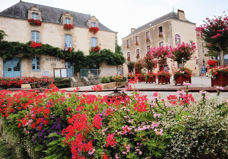 La Plaza del Ayuntamiento - Qué ver en Rochefort-en-Terre