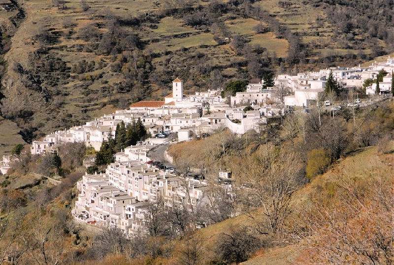 Vistas de Capileira desde Sierra Nevada - Pueblos más bonitos de la Alpujarra